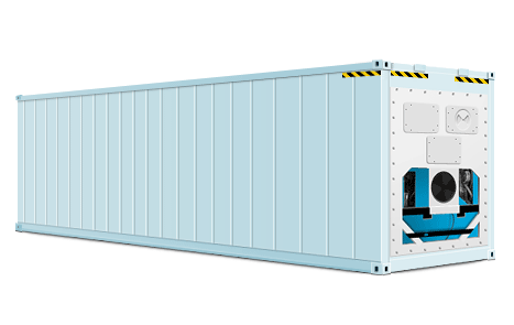 Refrigerated container